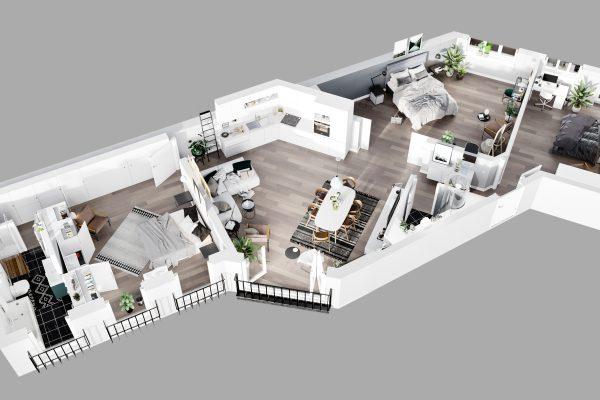 Апартаменты 46_3д планы_1