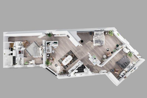 Апартаменты 46_3д планы_3